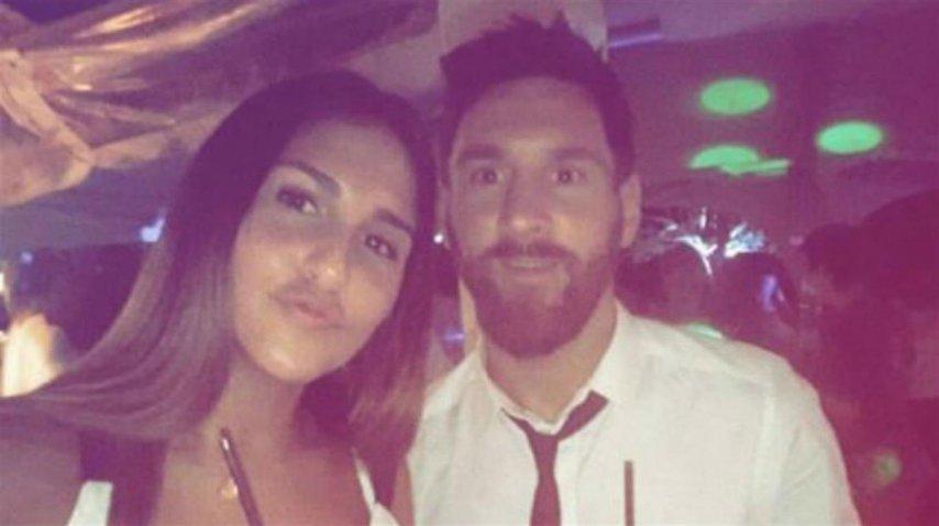 Messi, descansando en Rosario<br>
