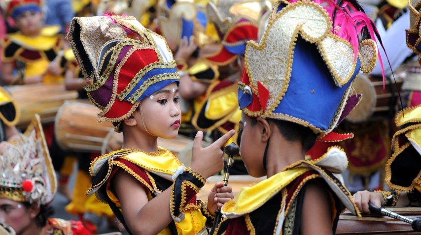 Así se prepara Indonesia para recibir el año nuevo<br>