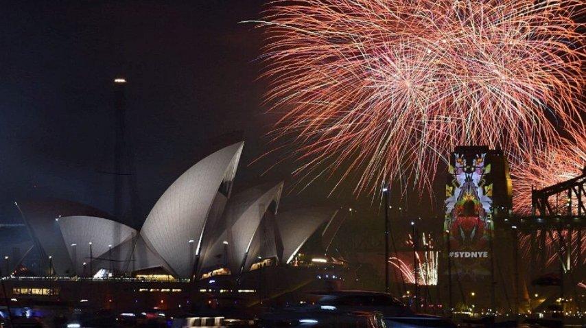 Festejo de Año Nuevo en Sidney