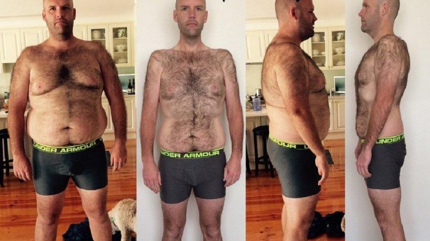 Bajó 50 kilos comiendo papas