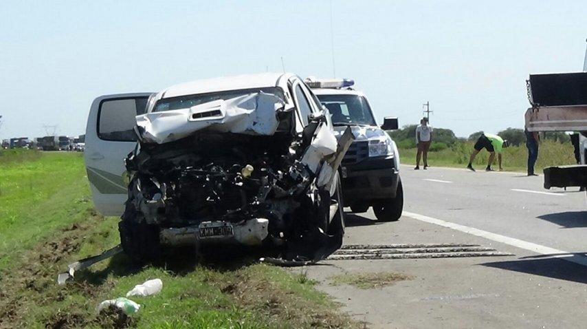 <p>Choque múltiple en Entre Ríos dejó siete heridos</p><p></p>