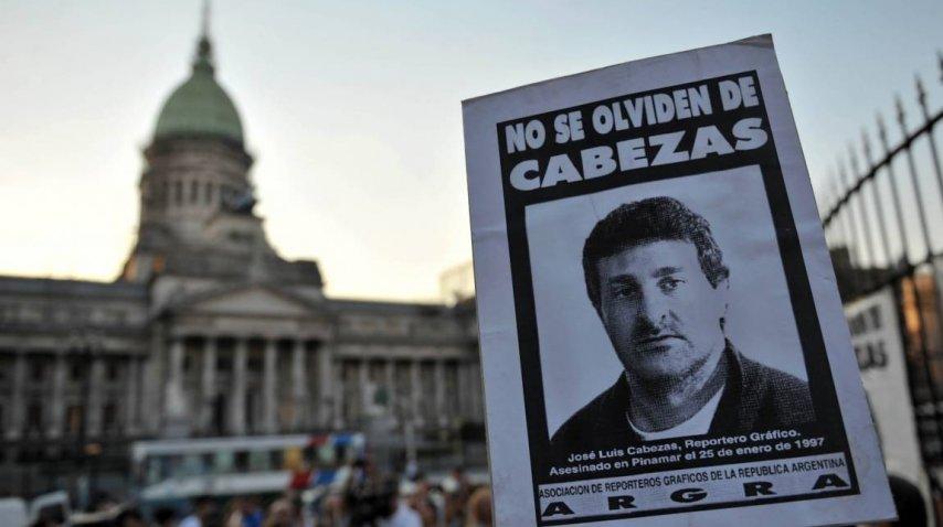 El reclamo de Justicia por el crimen de José Luis Cabezas<br>