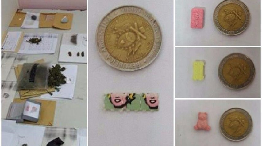 Pastillas de éxtasis, marihuana y cocaína fueron secuestrados en Mar del Plata