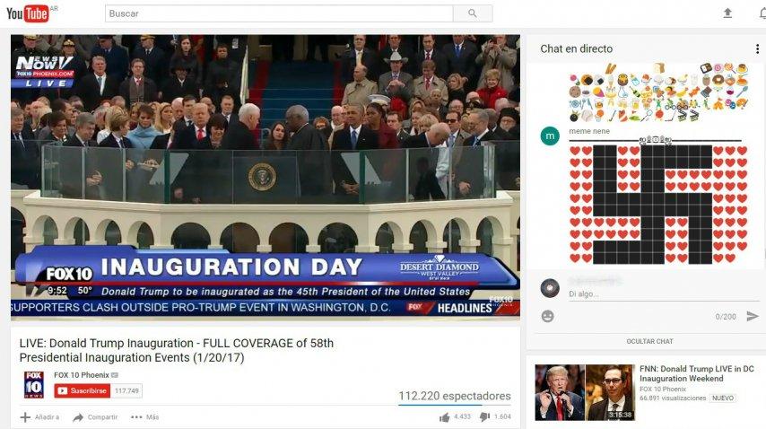 Así fue la inauguración de Trump<br>