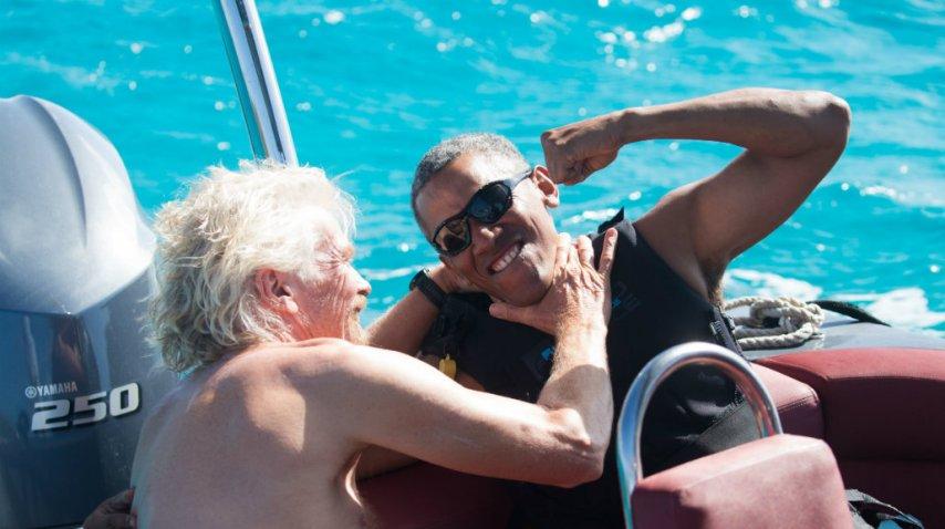 Un rato de juegos con Richard Branson<br>