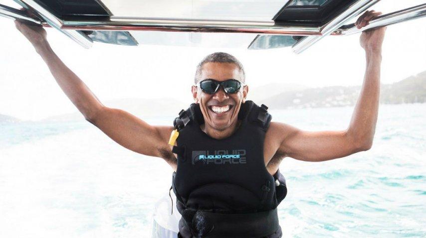 Obama, más relajado tras dejar la Casa Blanca<br>