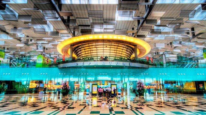 Este es el lujoso aeropuerto internacional de singapur<br>