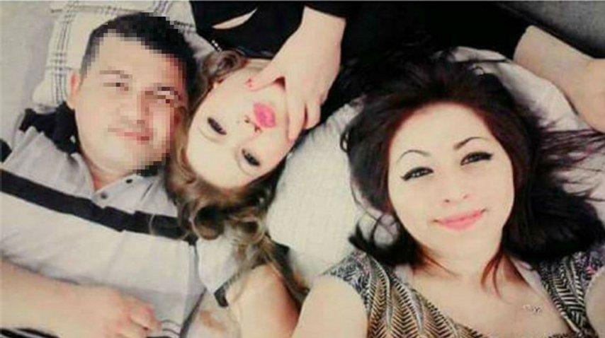 El detenido junto a las dos chicas asesinadas en la masacre de Florencio Varela<br>