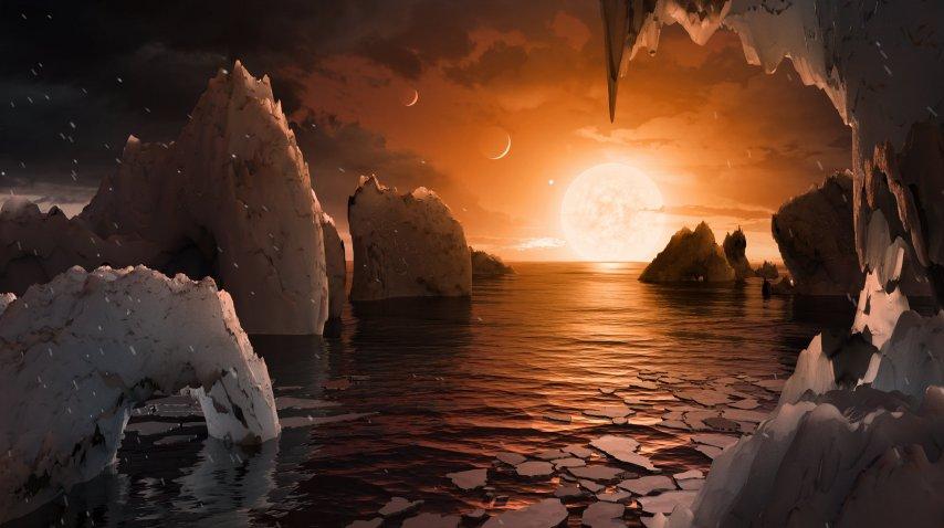 Así creen que se ven los planetas de Trappist-1<br>