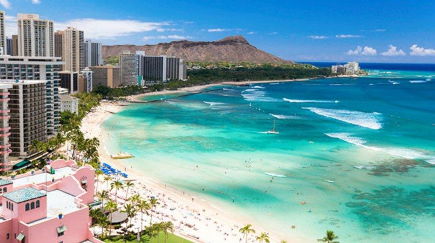 Oahu, un punto idílico de Hawaii<br>