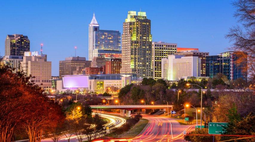 Raleigh, en Carolina del Norte, un destino inesperado<br>