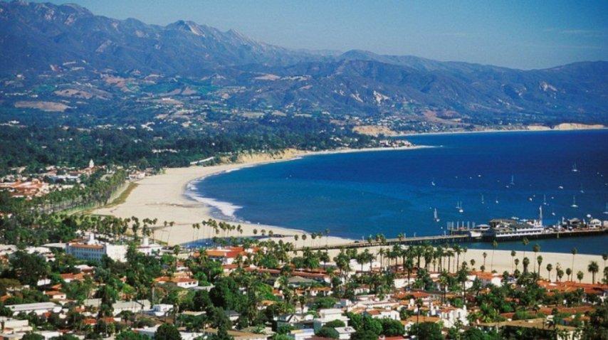 Los viñedos y playas en Santa Bárbara pasan al frente<br>