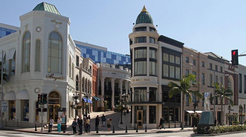 Beverly Hills y Los Ángeles son clásicos<br>