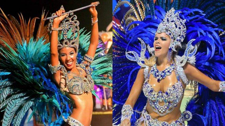 Las bailarinas del carnaval de Corrientes<br>