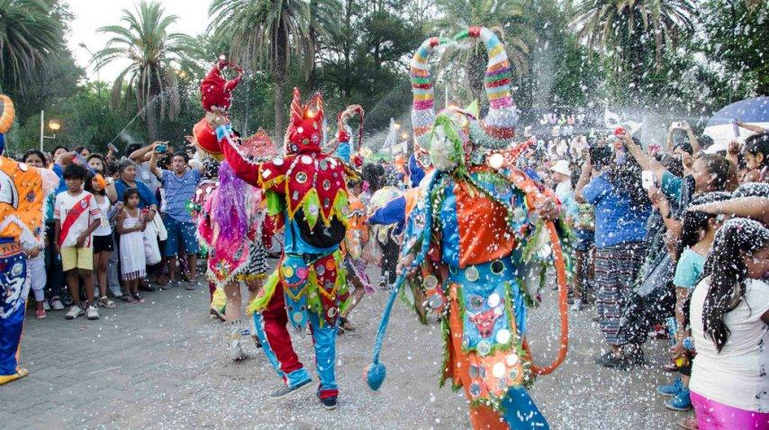 Los diablos del carnaval de Jujuy<br>