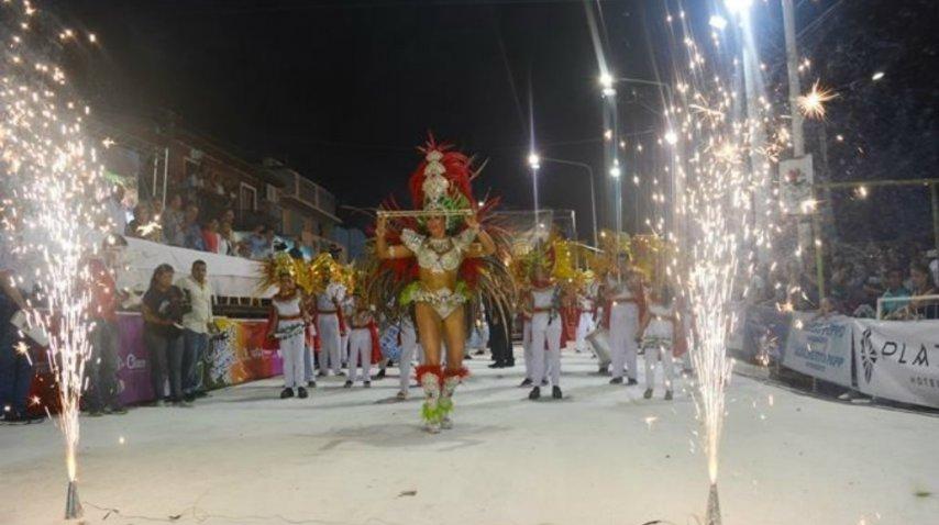 Villa Ángela vibra con el carnaval<br>