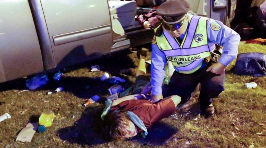 <p>Un conductor atropelló a una multitud en Nueva Orleans - Crédito: theadvocate.com</p><p></p>