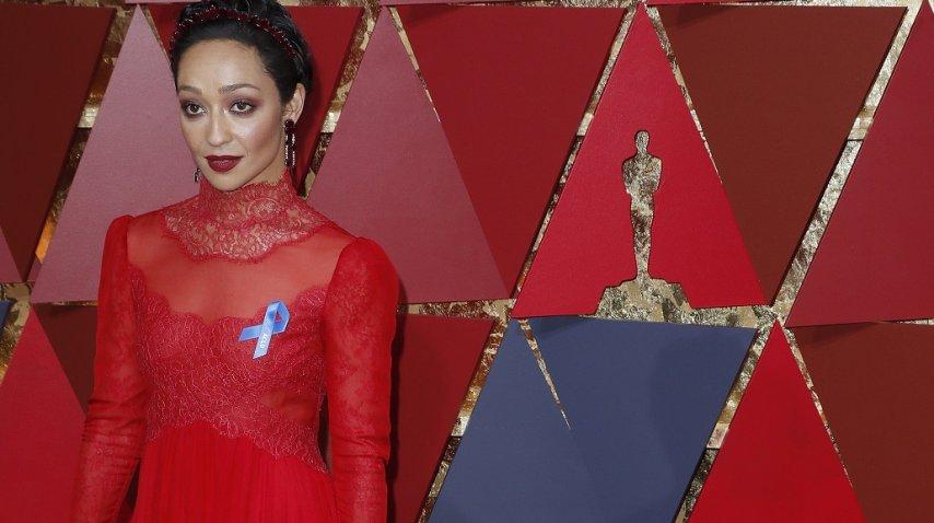 Ruth Negga se sumó contra las políticas de Trump en los Oscar