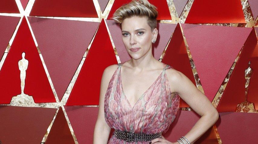 Scarlett Johansson en los Oscar
