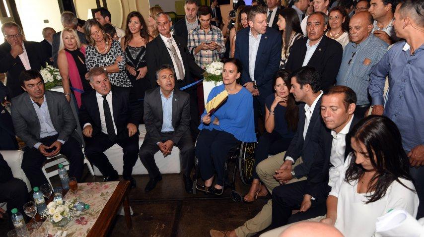 Gabriela Michetti en la Vendimia