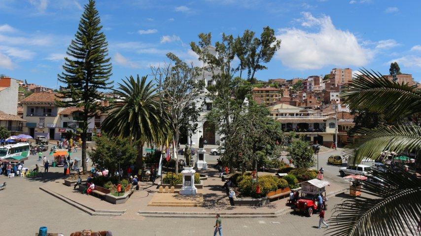 La pequeña población de Marinilla