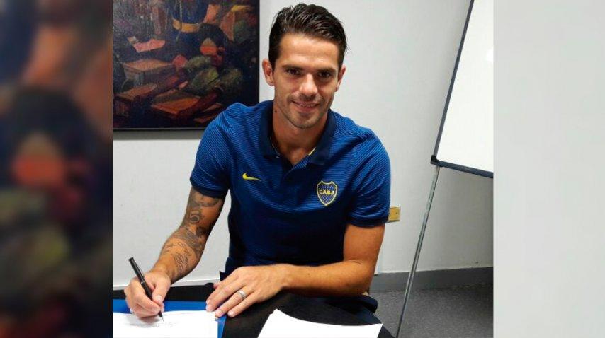 La firma de Fernando Gago para estirar su vínculo con Boca<br>