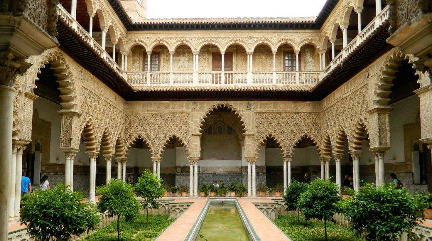 Dorne encontró su capital en el Alcazar de Sevilla<br>