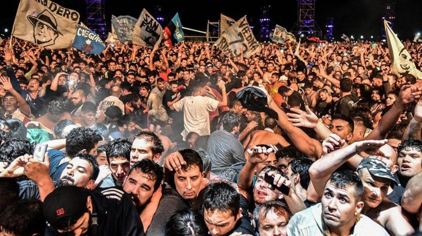 El trágico recital del Indio Solari en Olavarría<br>