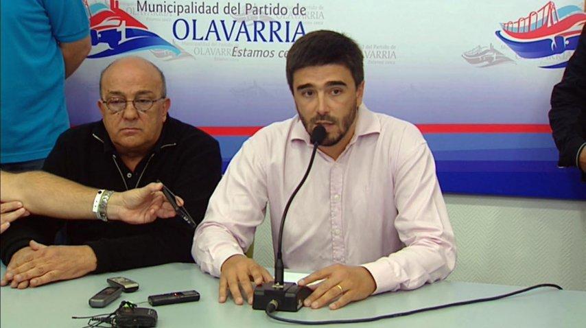 Ezequiel Galli, intendente de Olavarría<br>