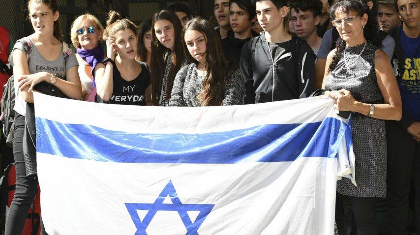 Acto por el aniversario del atentado a la Embajada de Israel