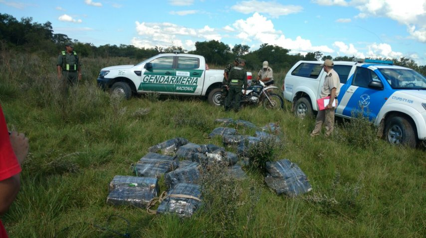 Incautaron 700 kilos de marihuana que se trasladaba a Itatí<br>
