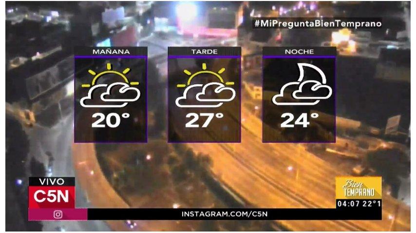 Pronóstico del tiempo del 30 de marzo de 2017