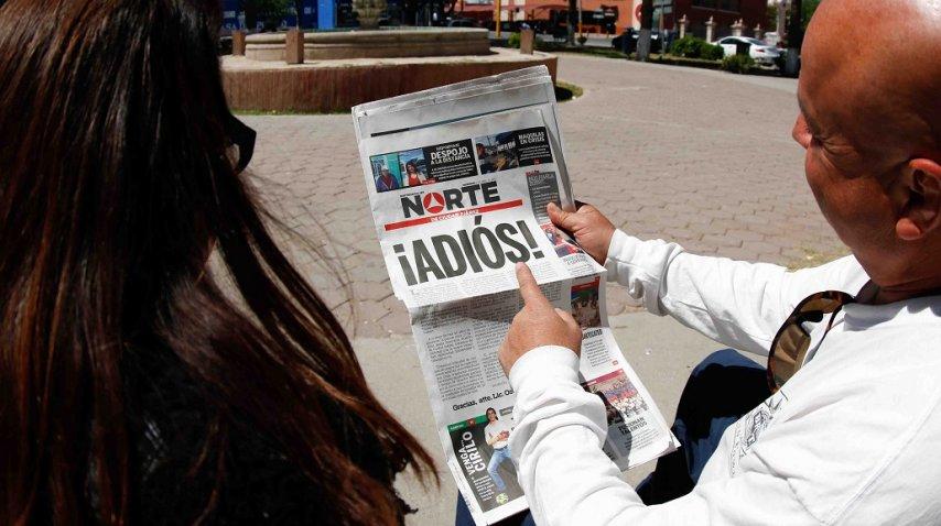 Cerró el diario Norte de Ciudad Juárez