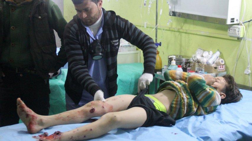 Ascienden a 86 los muertos por el supuesto bombardeo químico