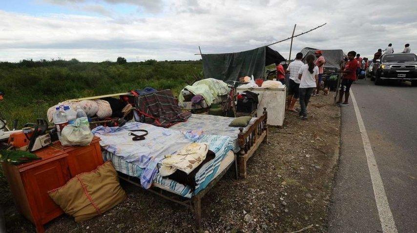 Unas 15 mil personas permanecen evacuadas por el temporal