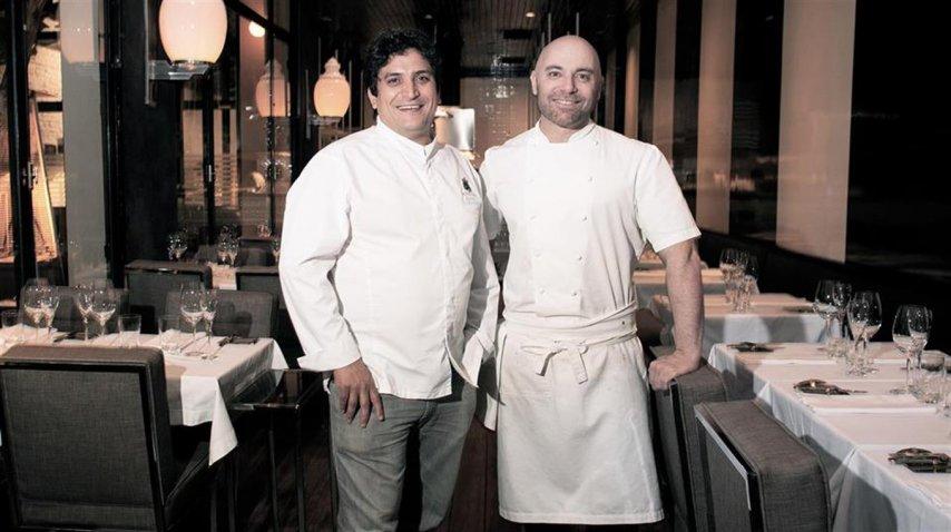 Mauro Colagreco y Germán Martitegui<br>