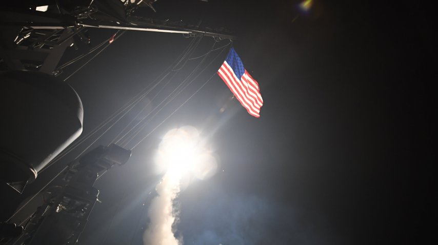 Misiles de Estados Unidos en Siria