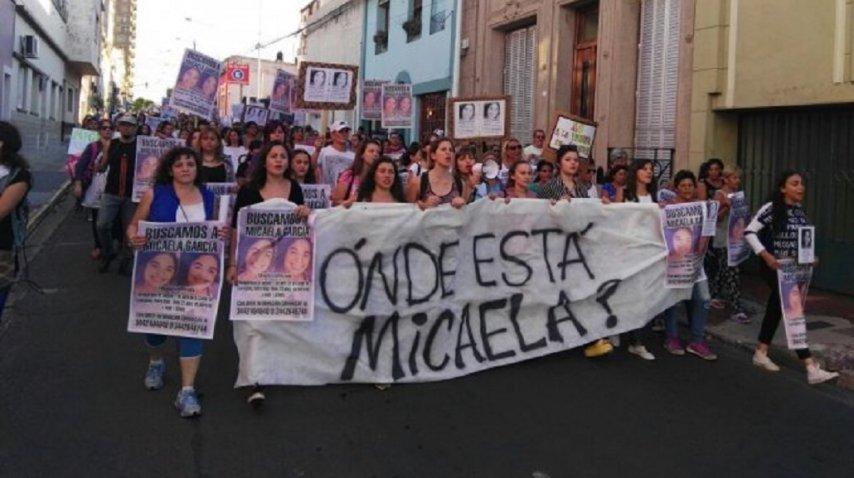 Marcha por Micaela García en Paraná