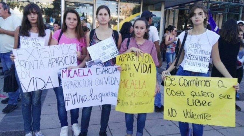 Masiva marcha en Paraná por Micaela García