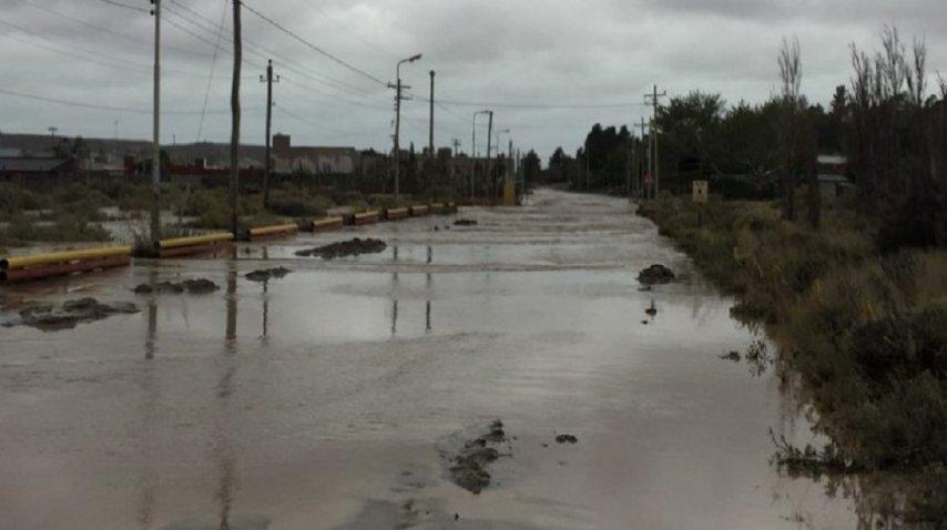 Temporal en Comodoro Rivadavia