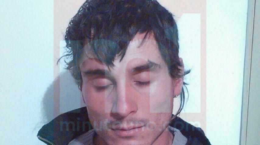 Sebastian Wagner, al ser detenido