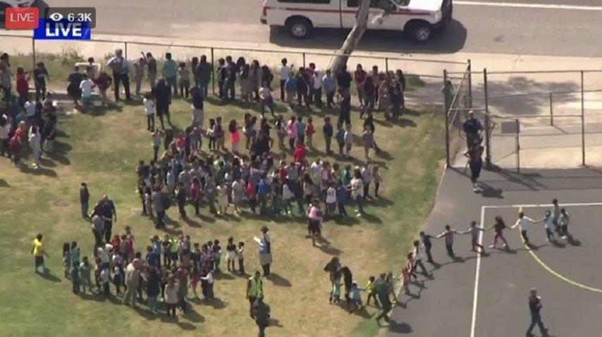 Los alumnos fueron evacuados<br>