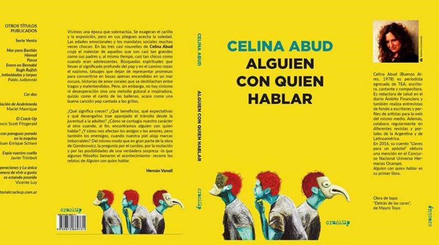 <p>Alguien con quien hablar: tres cuentos largos de Celina Abud</p><p></p>