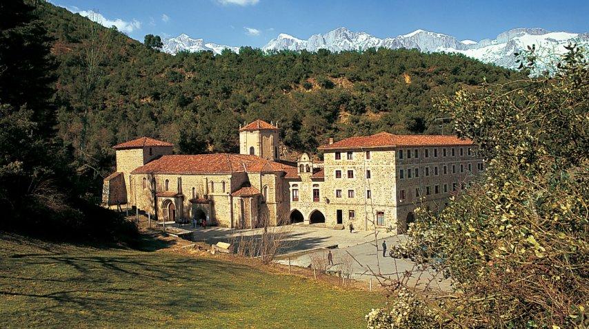 El monasterio de Santo Toribio<br>