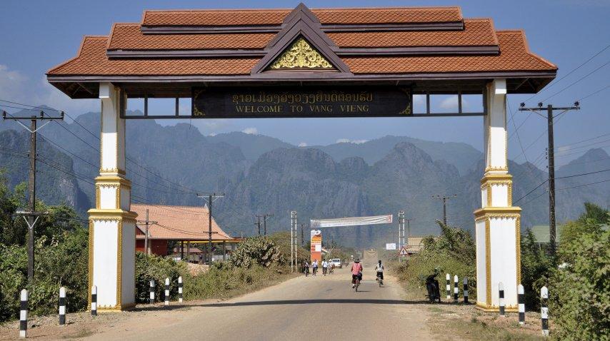 Vang Vieng volvió a ser una atracción turística de Laos<br>