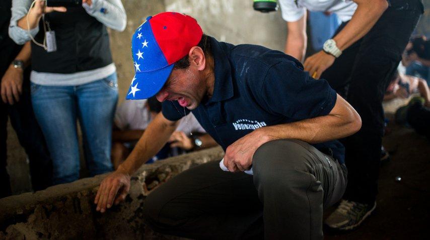 Protestas en Venezuela causaron tres muertos este miércoles<br>