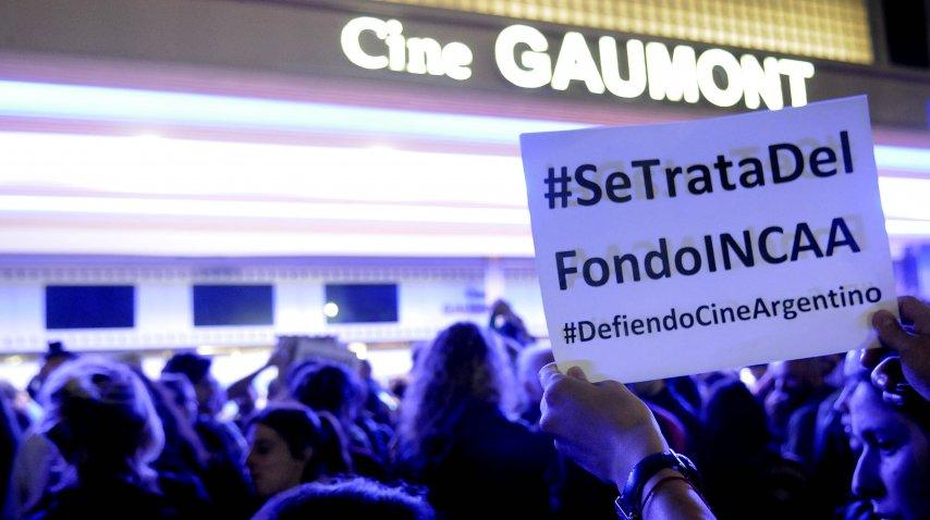 Protesta en el BAFICI tras el desplazamiento de Alejandro Cacetta