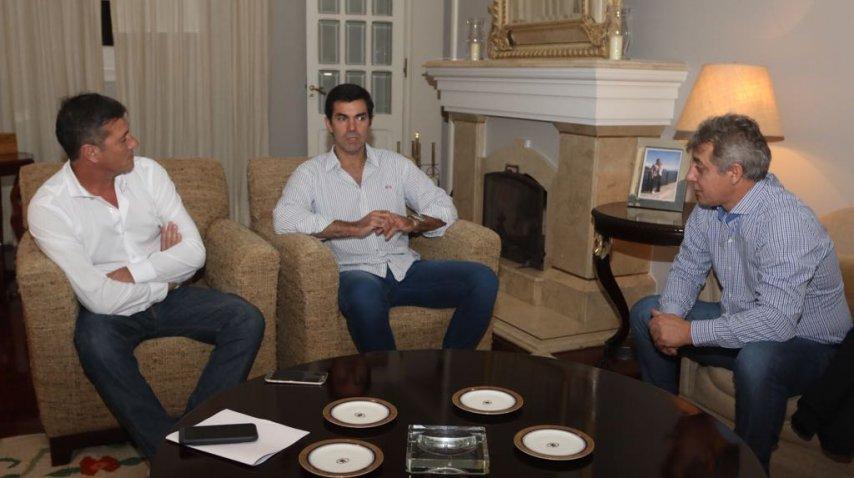 Urtubey recibió en Salta a los intendentes Bermejo y Giménez