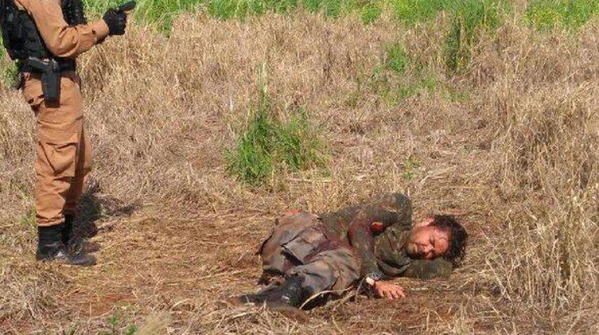 Parte de la banda del robo del siglo en Paraguay se tiroteó en Brasil. Fuente: diario Hoy<br>