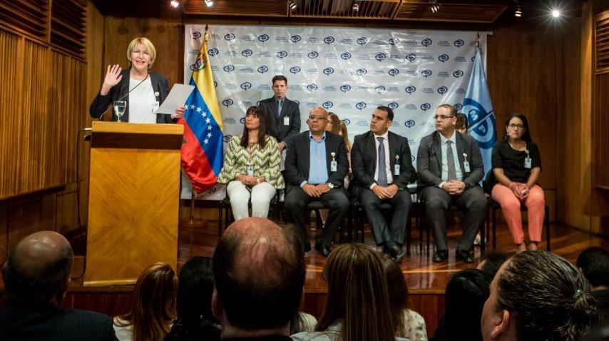 Luisa Ortega Díaz, fiscal general de Venezuela<b><br></b>